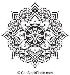 ベクトル, mandala, indian