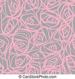 ベクトル, pattern), (seamless, illustration.