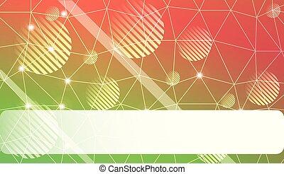 ベクトル, project., illustration., スペース, 色, 甘い, 抽象的, 現代, text., 線, ビジネス, 勾配, 三角形, デザイン, バックグラウンド。, 背景, ぼやけ, 夢のようである, あなた, モザイク, 円