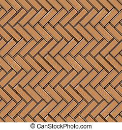ベクトル, seamless, 背景, 寄せ木張りの床