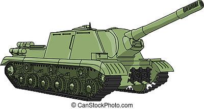 ベクトル, self-propelled, 銃