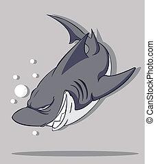 ベクトル, shark.