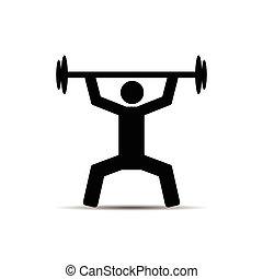 ベクトル, weightlifter