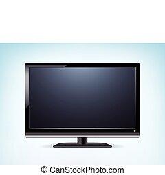 ベクトル, widescreen, hdtv, モニター