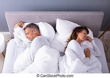 ベッド, 睡眠, 恋人