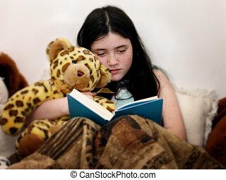 ベッド, 読書