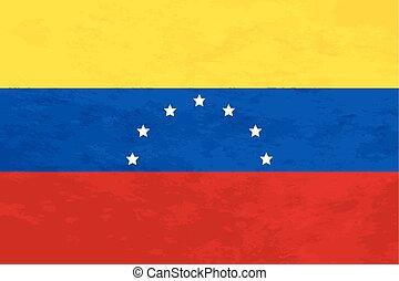 ベネズエラ, 割合, 本当, 旗, 手ざわり