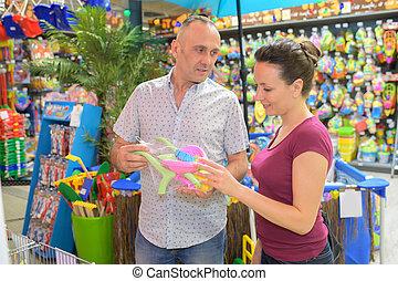 ベビーおもちゃ, 親, 若い, 購入
