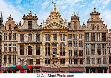 ベルギー, ブリュッセル, 広場, 場所, 壮大