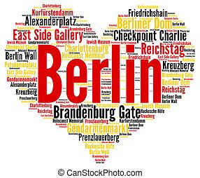 ベルリン, 単語, 雲