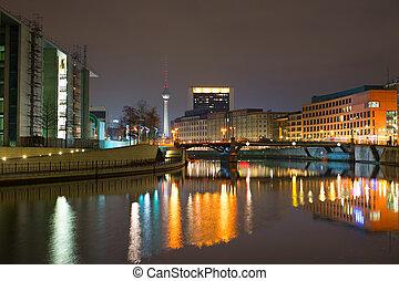 ベルリン, 夜