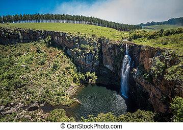 ベルリン, 滝, アフリカ, mpumalanga, 南