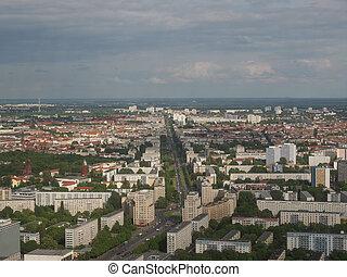 ベルリン, 空中写真