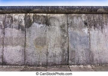 ベルリン, (berliner, 残物, wall., 壁, mauer)