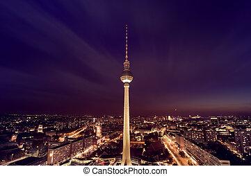 ベルリン, tv タワー