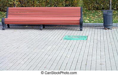 ベンチ, 公園