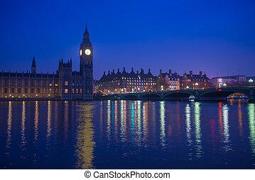 ベン, 大きい, ランドマーク, ロンドン