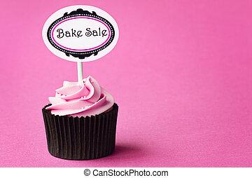 ベークセール, cupcake