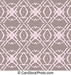 ベージュ, ボールド体, ピンク, pattern., seamless