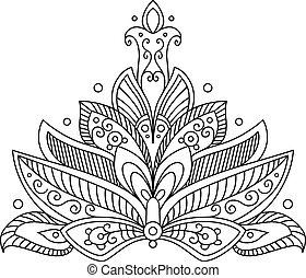 ペイズリー織, モチーフ, 華やか, イラン人, 珍味, 花