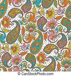 ペイズリー織, 装飾