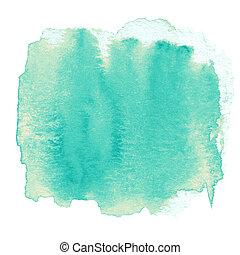 ペイントされた, 抽象的, インク点, 背中の手, 水彩画, ぬれた, textured