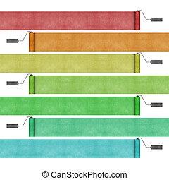 ペンキの ローラー, 作られた, から, リサイクルされる, ペーパー