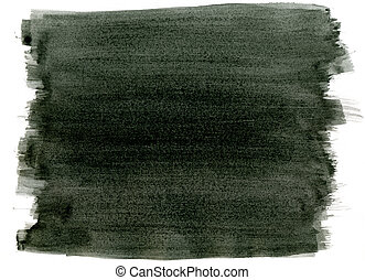 ペンキ, ストローク, 抽象的, 水彩画, バックグラウンド。, 黒