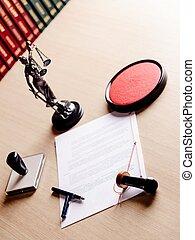 ペン, 公衆, 切手, 仕事, notary, 道具, 彼の