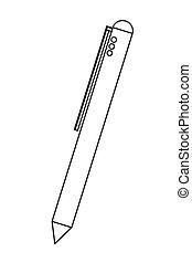 ペン, 引き込み式, アイコン