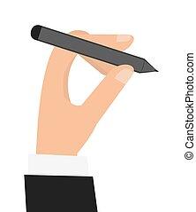 ペン, 手の 保有物, アイコン