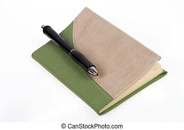 ペン, 日記