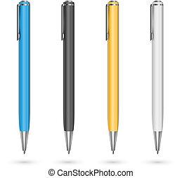 ペン, 有色人種