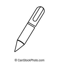 ペン, pictogram, イメージ, アイコン