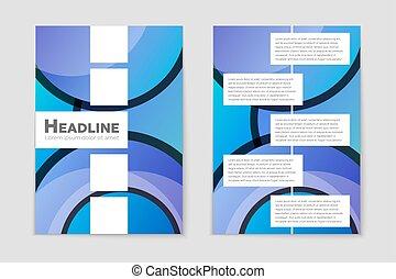 ページ, 芸術, シート, 抽象的, リスト, ブランク, デザイン, スタイル, レイアウト, 旗, mockup, フライヤ, set., 主題, テンプレート, 印, 本, 小冊子, カバー, 背景, パンフレット, 印刷, a4., カード, 考え, ベクトル, 広告
