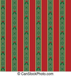 ペーパー, 包むこと, seamless, 背景, クリスマス