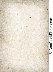 ペーパー, 古い, 羊皮紙, 手ざわり
