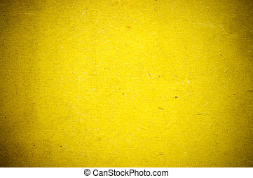ペーパー, 古い, 黄色