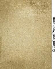 ペーパー, 古い, texture., yellowed