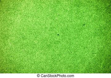 ペーパー, 緑, 手ざわり