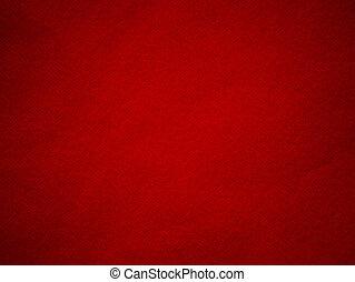 ペーパー, 赤い背景, 手ざわり