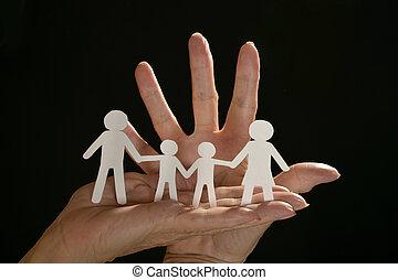 ペーパー, 黒人の家族