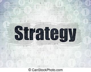 ペーパー, concept:, 作戦, 背景, デジタルビジネス, データ