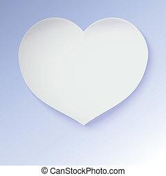 ペーパー, heart., グリーティングカード