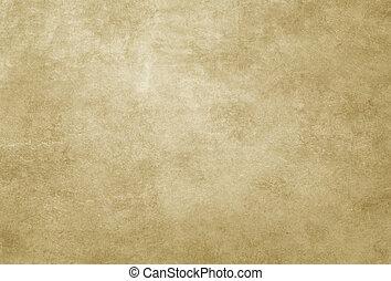ペーパー, texture., 古い, yellowed