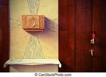 ホスト, consecrated, tabernacle