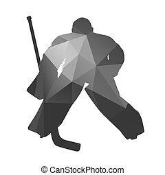 ホッケー, 氷, ゴールキーパー