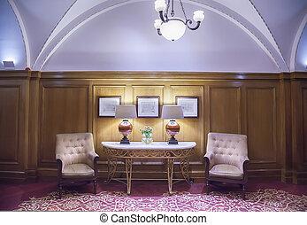 ホテルの部屋, ロビー, クラシック