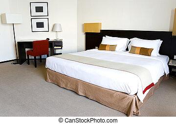 ホテル寝室