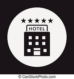 ホテル, アイコン